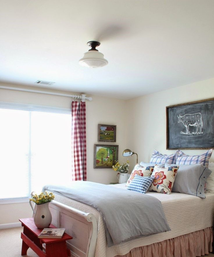48 Cozy And Inviting Farmhouse Bedrooms | ComfyDwelling ...