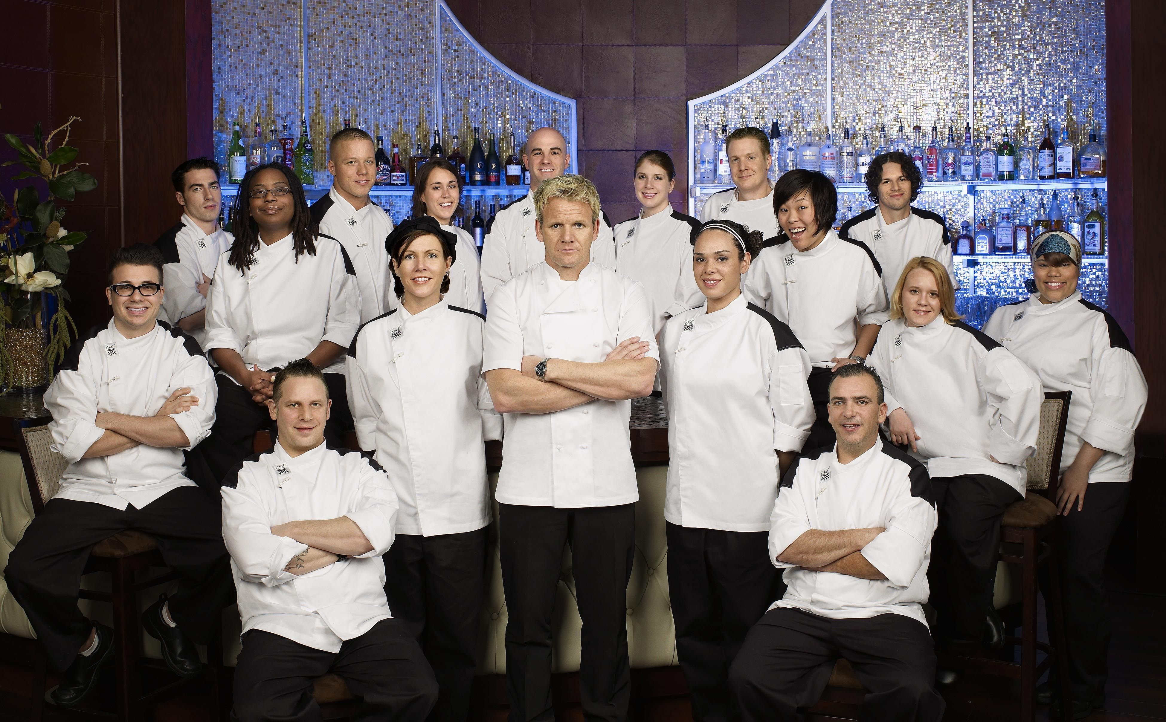 hells kitchen | gordon ramsay in hell's kitchen picture - hell's