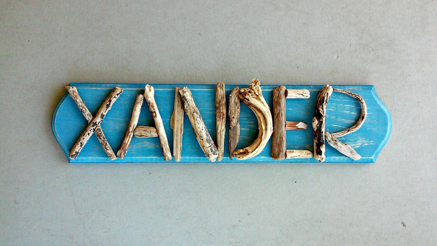 Avalisa letter upper case t stretched wall art - Rustic Nursery Sign Kids Bedroom Personalized Name Sign Driftwood Art Decor Nursery Wall