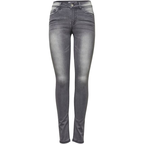 ca6068060fb3 ONLY Ultimate Soft Reg. Skinny Jeans ($31) ❤ liked on Polyvore featuring  jeans