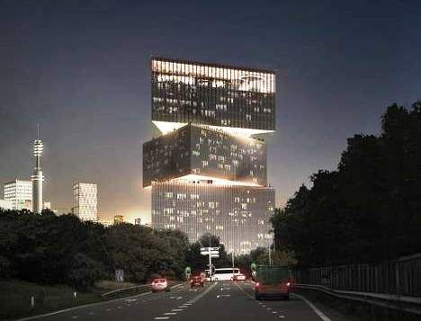 Skyline Amsterdamse Zuidas verrijkt met iconisch hotel nhow @AmsterdamRAI  @hoogbouw http://www.amsterdam.nl/zuidas/nieuws/2015/04-april/skyline-amsterdamse/…