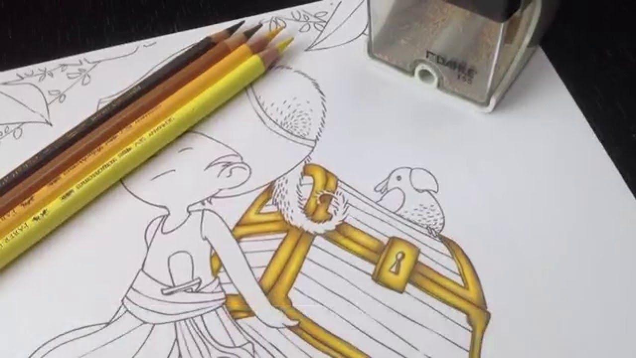 Tutoriel Faire Un Metal Dore Aux Crayons De Couleur Dessin