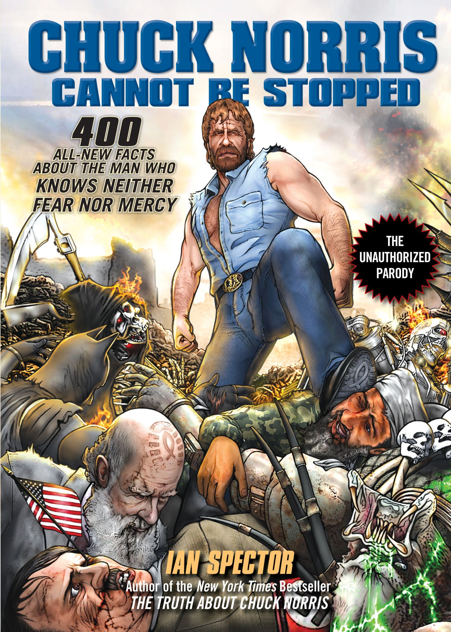 He cannot be stopped chuck norris norris books