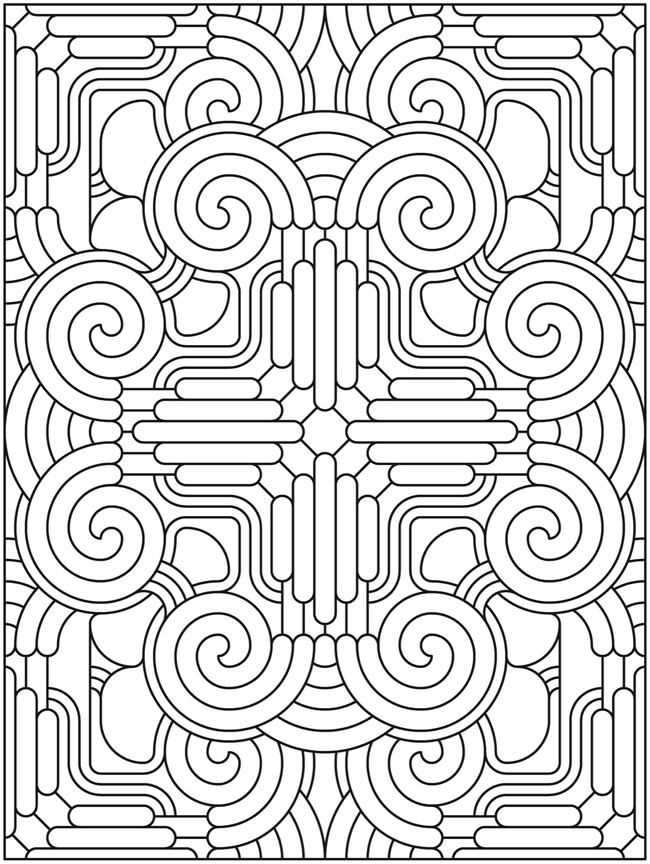 Welcome to Dover Publications | Adult Printable Coloring Pages ...