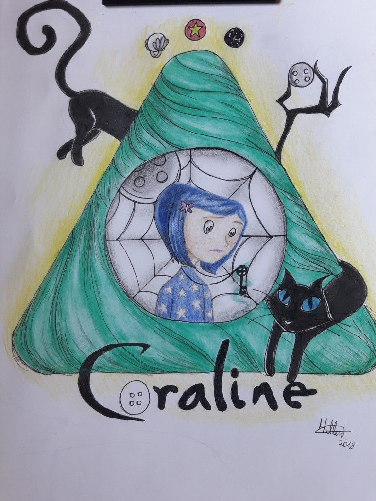 Coraline Fan Art Coraline Art Coraline Aesthetic Coraline Drawing
