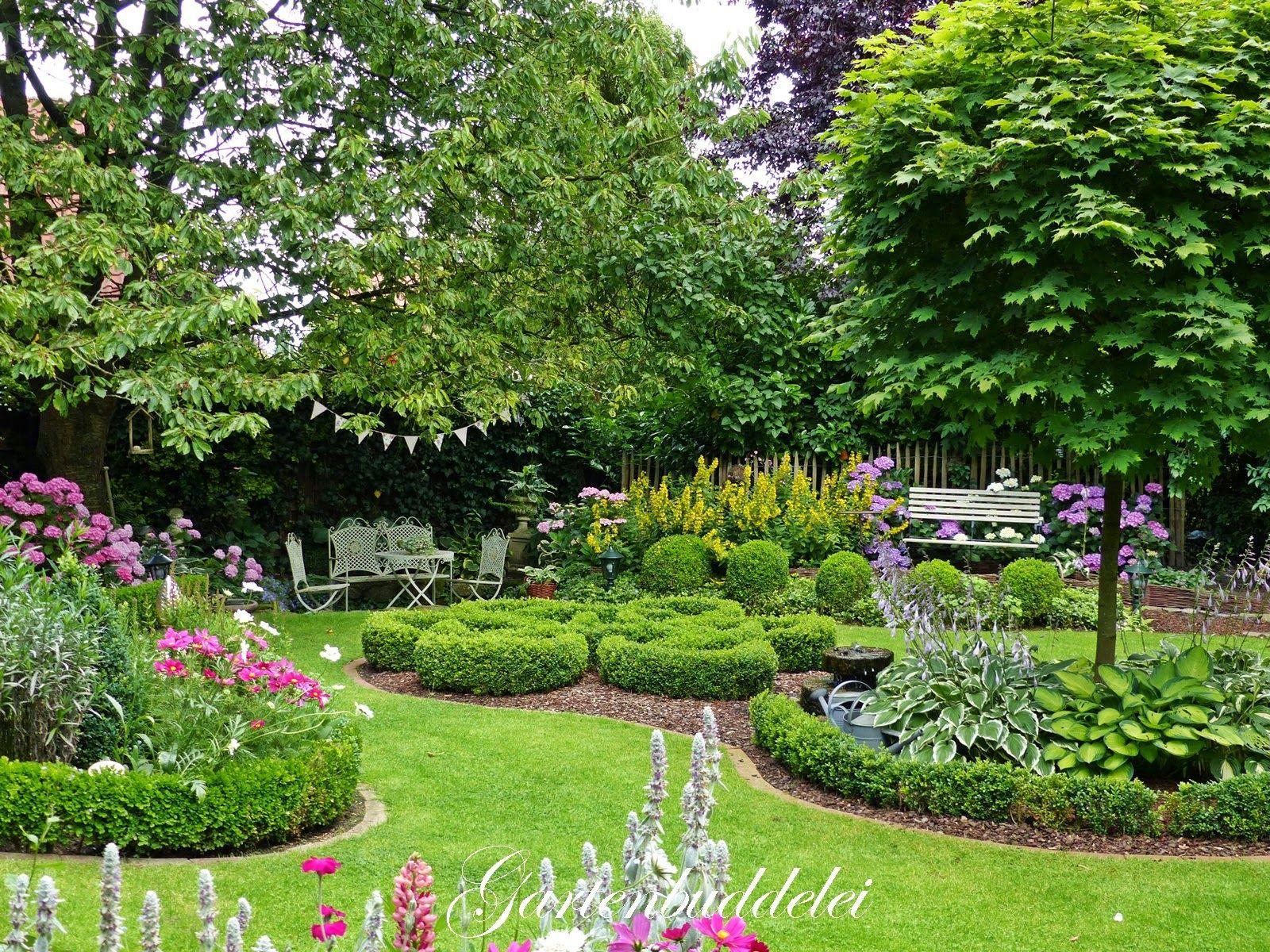 Gartenbuddelei Kleiner Gartenrundgang Mein Traumgarten