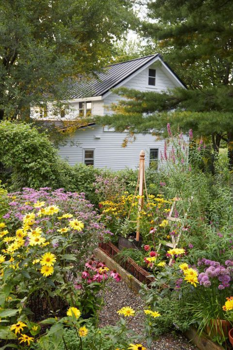 Garden Therapy Different Garden Ideas: The Greater Variety Of Plants Your Yard Harbors, The