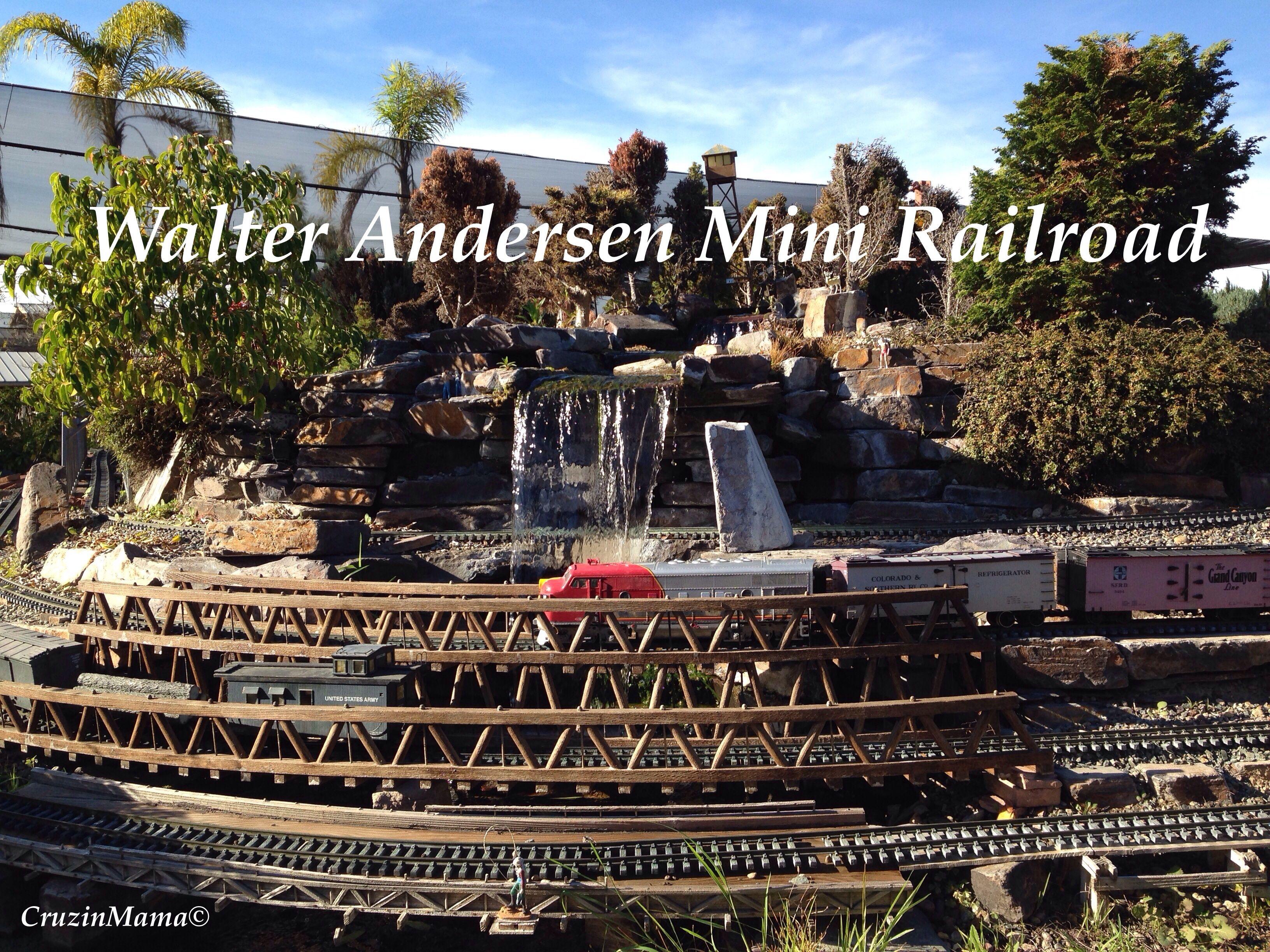 Walter Andersen Mini Railroad