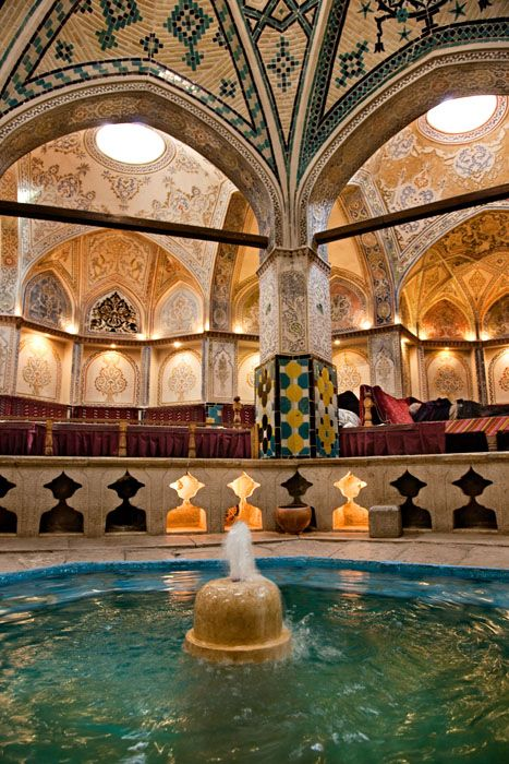 Kashan- Sultan Amir Ahmad historic bath