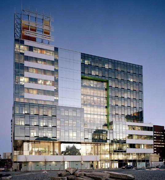 Design Science Journal Cambridge: GREEN BUILDING: Genzyme Center LEEDS The Way