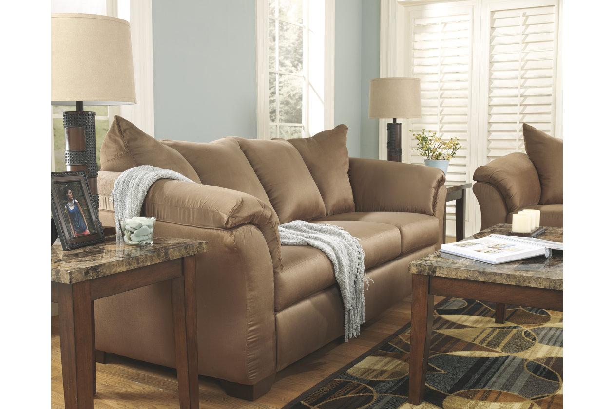 Ashley Furniture Darcy Sofa Sleeper Bett Chesterfield Baci Living Room