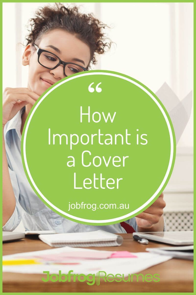 How important is a cover letter in 2020 cover letter