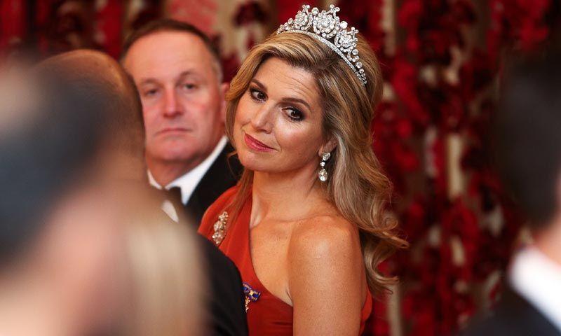Máxima de Holanda, 'reina de corazones' en Nueva Zelanda