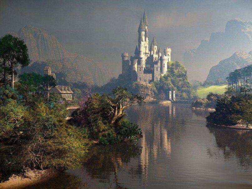 magic castle fantasy world - photo #4