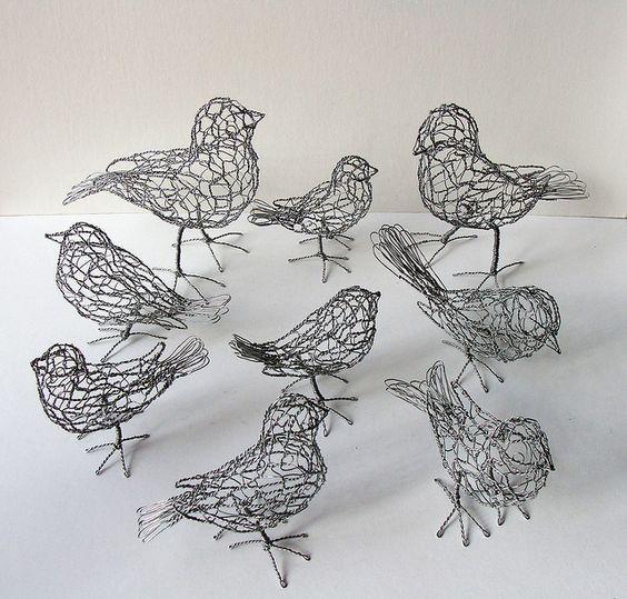 9512a827370ef38ce52cb2b16984e4c5 (1) | 43 Draht Kunst Skulpturen ...