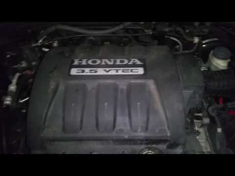 2003 2008 Honda Pilot 3.5L VTEC V6 Engine Idling After Oil Change U0026 Spark