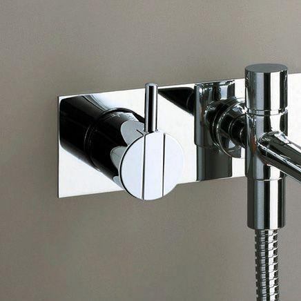 シャワー水栓 Vola VL.021 シングルレバーハンドル(バス用)