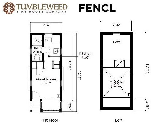fencl tiny house plans grad students tiny house tour and interview on living tiny - Micro House Plans