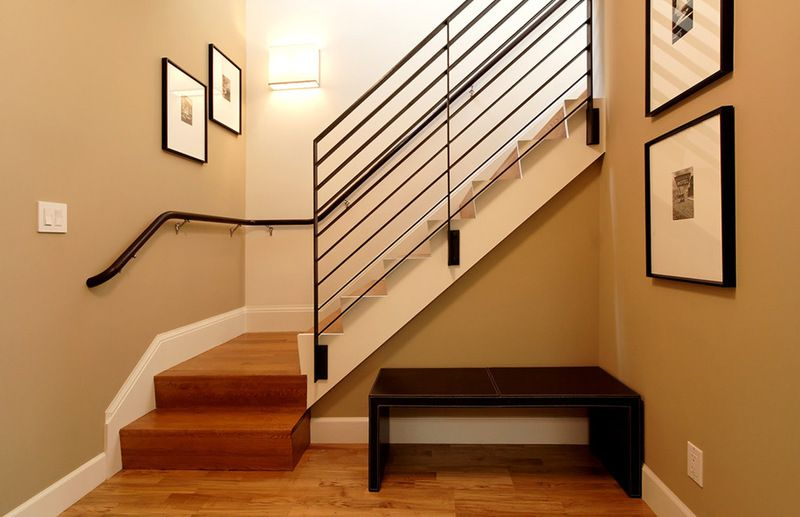 Wall Color For Living Room Staircase Library Bagel 6114