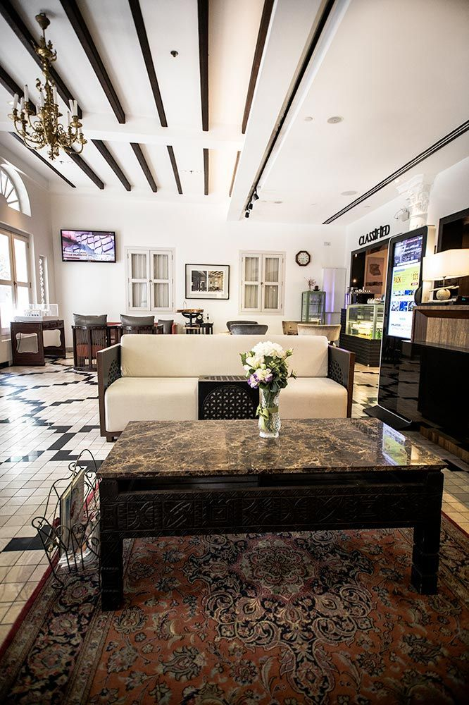 The Sultan Hotel In Singapore Reception Area Great Value Located Hip Kampong Glam District