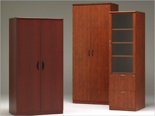 Tall Wood Storage Cabinet with Doors | Superior Storage