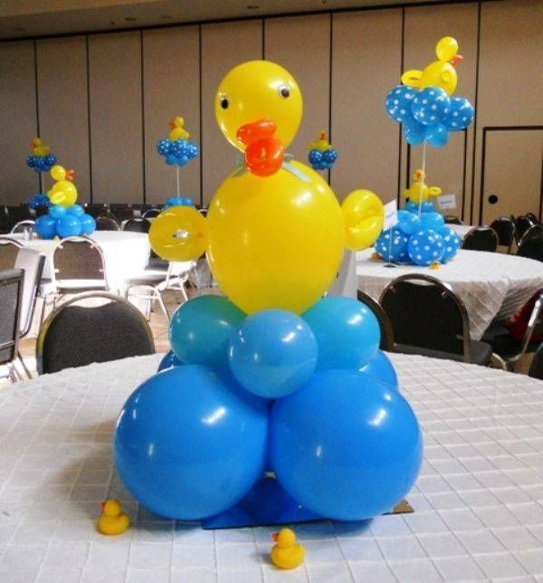 Formas con globos para baby shower Globos Pinterest Globo