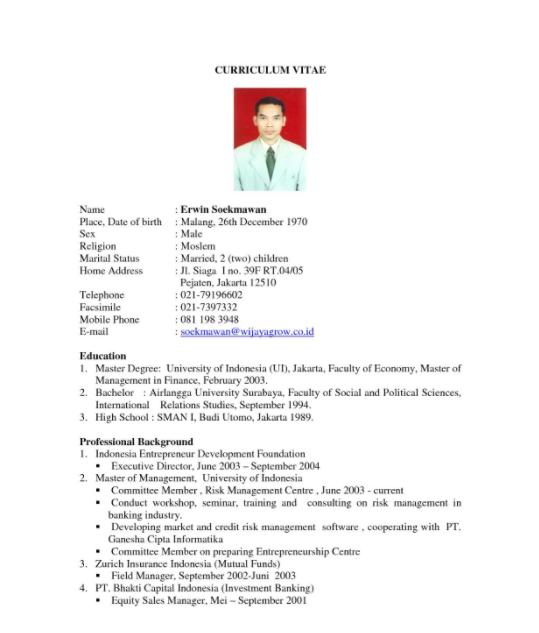 Contoh Daftar Riwayat Hidup Terbaru 1 30 Contoh Daftar Riwayat Hidup Curriculum Vitae Cv Terlengkap Http Riwayat Hidup Creative Cv Template Cv Kreatif