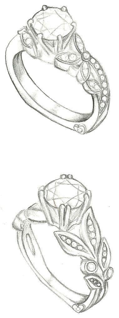 Simple diamond sketch