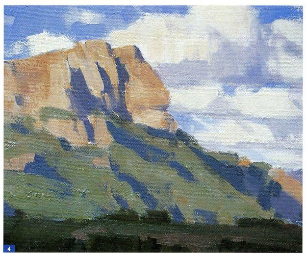 How to paint en plein air beginner landscape oil painting for Oil painting pictures for beginners