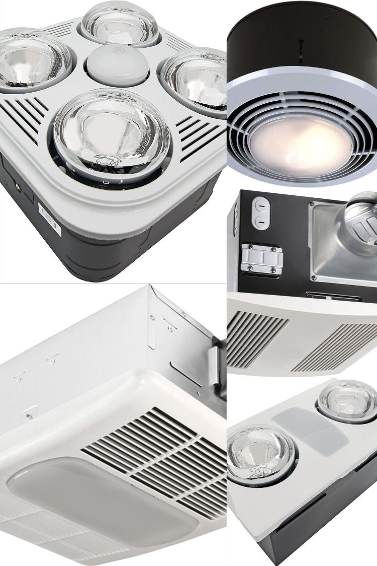 5 Best Bathroom Exhaust Fans with Heater - Reviews & Top ...