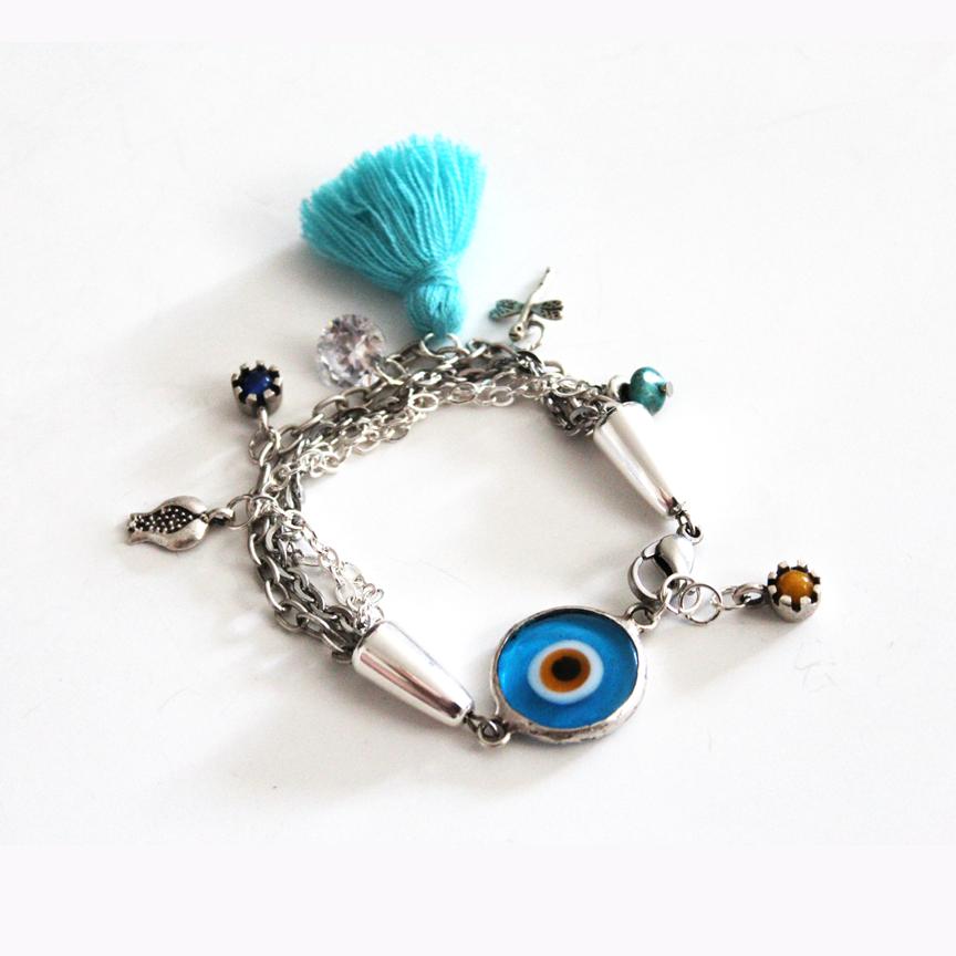 This Fun Bracelet Persian Evil Eye Protecting Bracelet Is