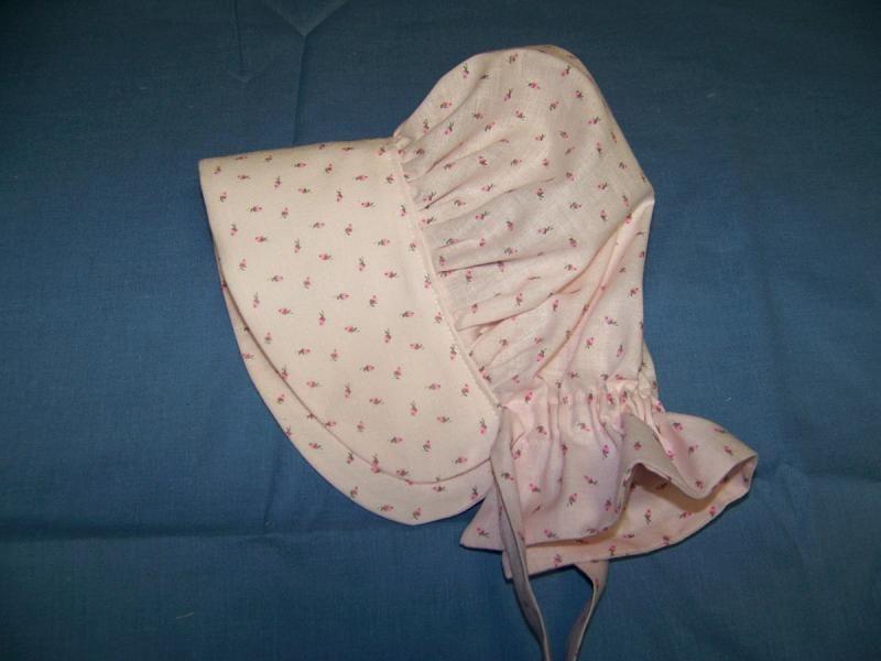 free bonnet patterns | Baby Prairie Bonnet pdf pattern and tutorial ...