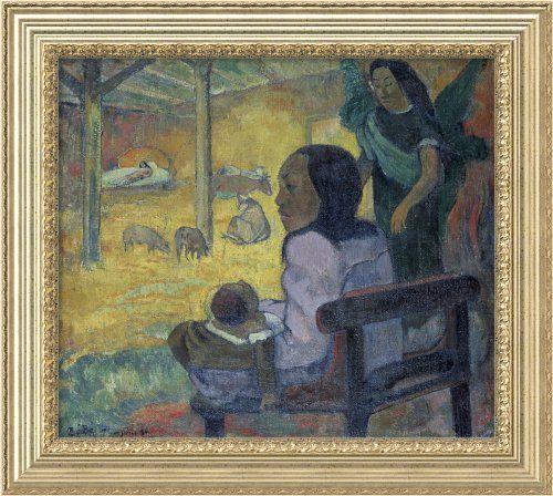 Christmas 1886 by Paul Gauguin Framed Canvas  http://www.fivedollarmarket.com/christmas-1886-by-paul-gauguin-framed-canvas-2/