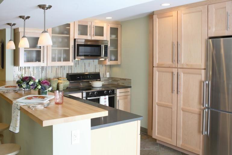 Elegant Kleine L Förmige Küchen   Fünfzig Designs #Kleine #L Förmige #Küchen