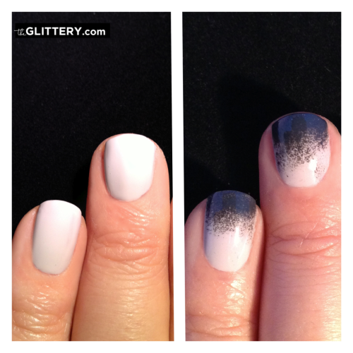 Spray Paint Ombre Look Ombre Nails Nail Designs Nail Art