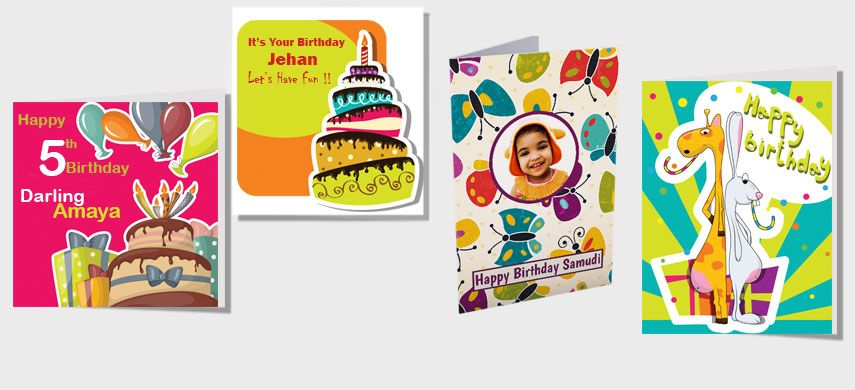 Send A Personalised Birthday Card And Blow Their Mind