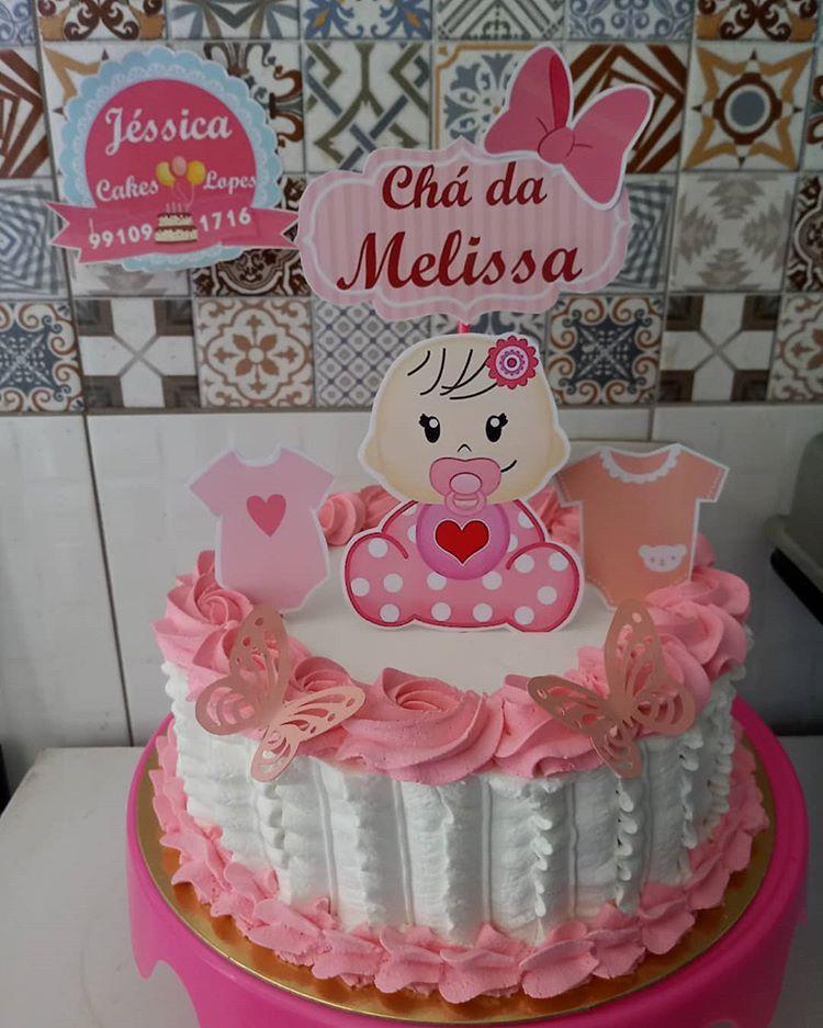 Para O Cha De Bebe Da Princesa Aylla Valentina Com Tema