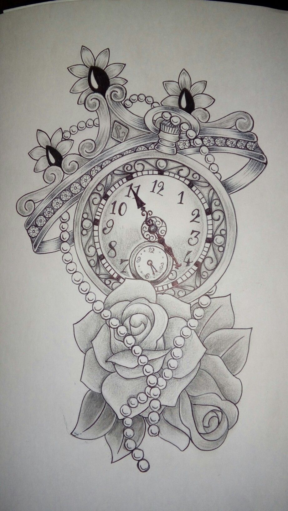 One Watch With A Crown One Watch With A Rose Tattoos For Daughters Tattoo Designs Tattoos