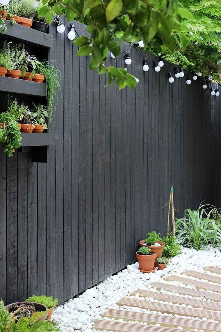 S paration jardin id es de cl tures haies et brise vue discrets et l gants jardin cl ture - Separation jardin ...