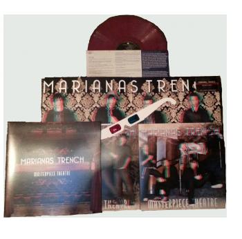 Marianas Trench Masterpiece Theatre Vinyl With 3d Insert And Glasses Marianas Trench Masterpiece Theater Vinyl