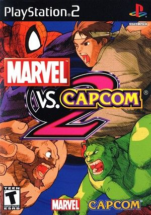 Marvel Vs Capcom 2 Sony Playstation 2 Game Marvel Vs Capcom Marvel Vs Capcom Characters