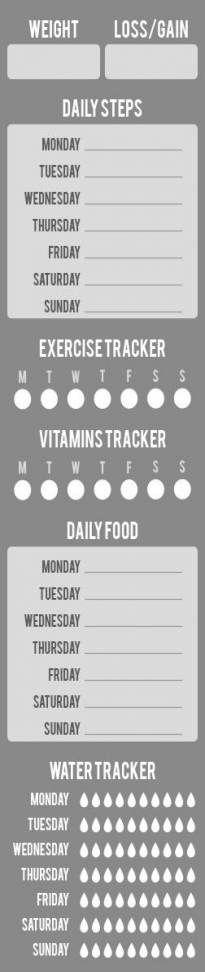 Fitness Planner Stickers Ideas 56+ Trendy Ideas #fitness