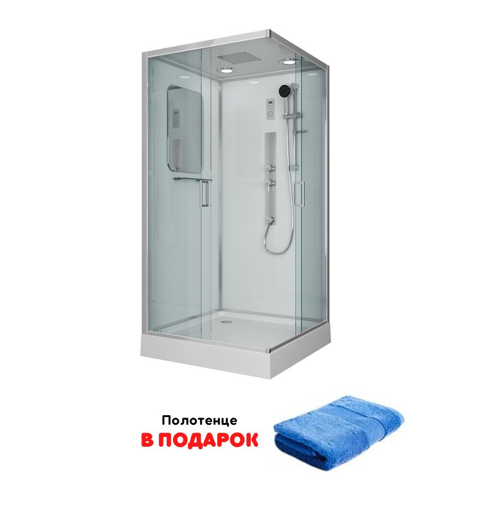 Shower cabin Niagara Premium NG-6002-01GQ 100×100 cm