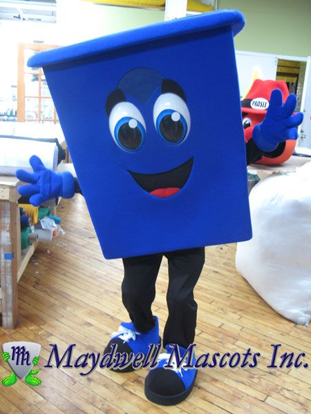 Region Of Peel Recycling Bins Toy Chest Mascot