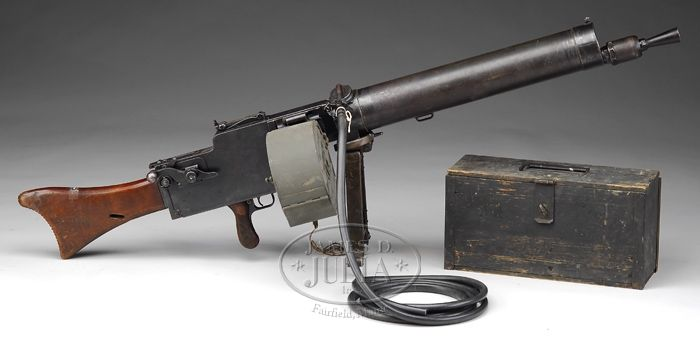 Priced in Auctions : MAXIM MG08/15 WATER COOLED MACHINE GUN