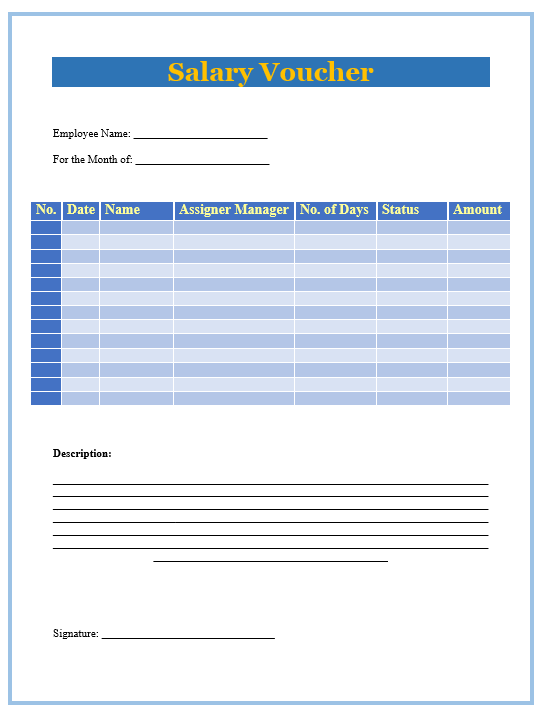 15+ Free Salary Slip Templates | Printable Word, Excel & PDF ...