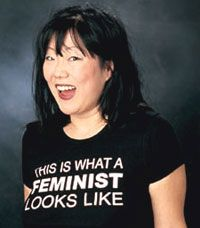 Another one of my idols...I love strong women like Margaret Cho.