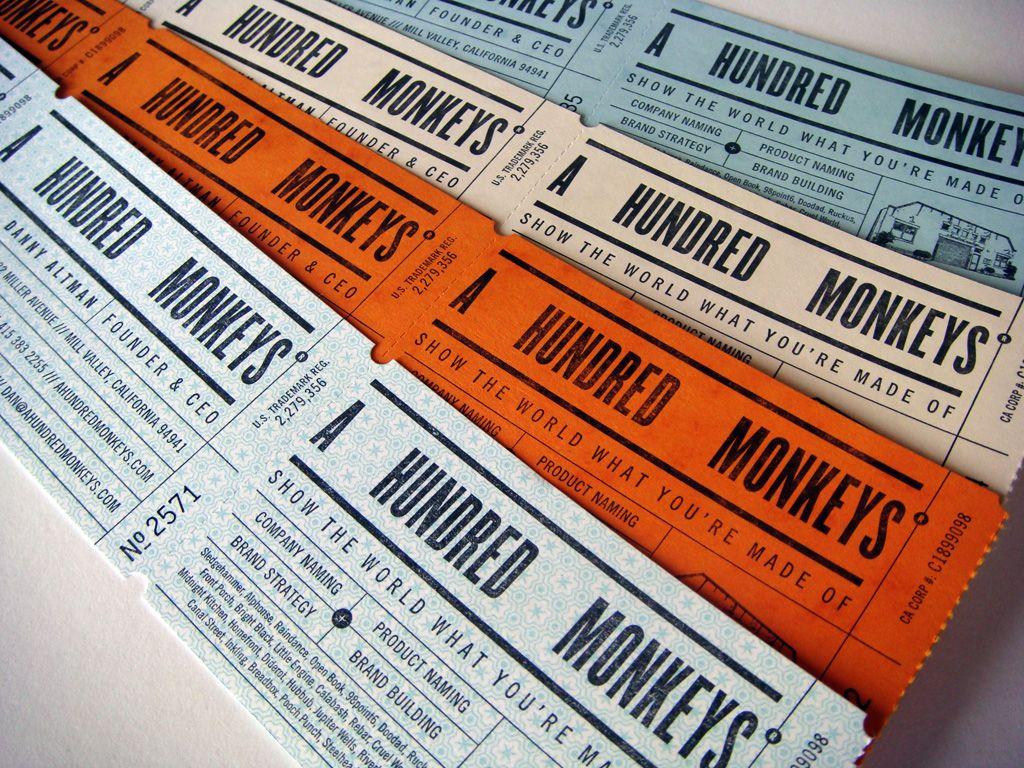 A HUNDRED MONKEYS by mCROXTON DESIGN | Design | Pinterest | Monkey ...