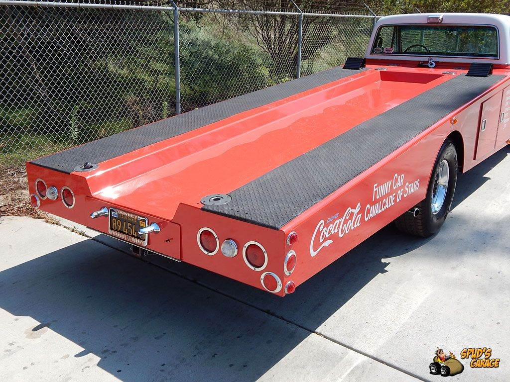 Spud\'s Garage - 1971 Chevy C30 Ramp Truck - Funny Car Hauler - For ...