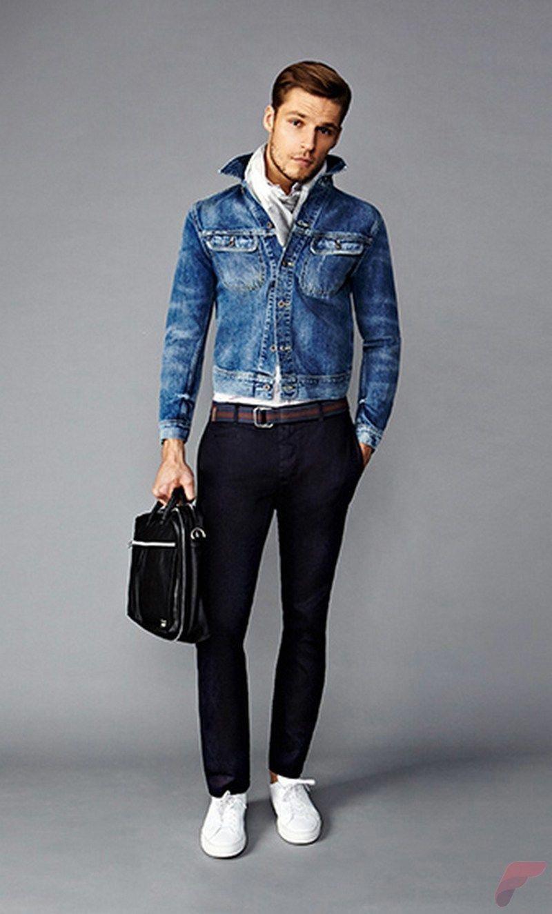 Men sport coat with jeans (28) menoutfits Mens winter